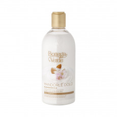 Gel de duș Bottega Verde Mediterranean Almond cu lapte și ulei de migdale, 400 ml