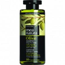 Sampon Farcom Mea Natura Olive pentru toate tipurile de păr cu extract de olive, 300 ml