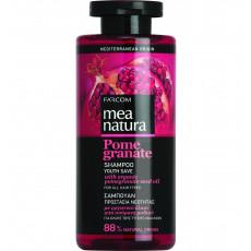 Sampon Farcom Mea Natura Pomegranate pentru toate tipurile de păr cu extract de rodie, 300 ml