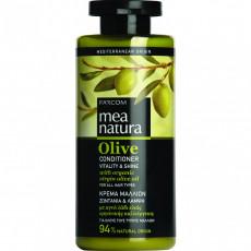 Balsam Farcom Mea Natura Olive pentru toate tipurile de păr cu extract de olive, 300 ml