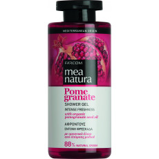 Gel de duș Farcom Mea Natura Pomegranate cu extract de Rodie, 300 ml