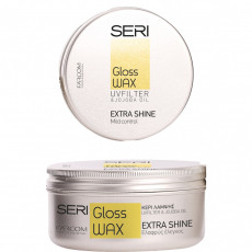 Ceară pentru păr Farcom Seri Gloss Wax de fixare medie, 100 ml
