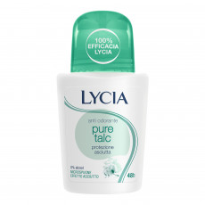 Deodorant-spray Lycia Pure Talc cu Talc, 75 ml
