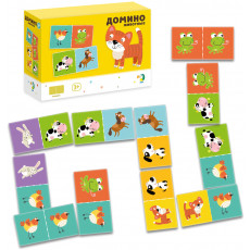 "Dodo Toys DP300137 - Joc de masă Domino ""Animale"""