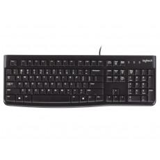 Tastatură Logitech K120 Black, USB (LO 920-002522)